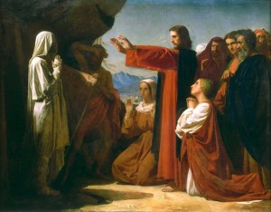 Raising of Lazarus - Bonnat 1857