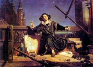 Astronomer Copernicus - Conversation with God, by Jan Matejko, 1871.