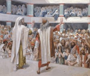 Moses & Aaron Speak to the People - James Tissot c.1900