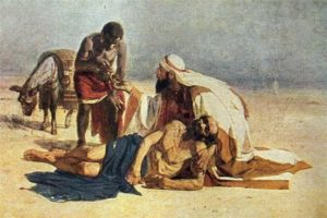 The Good Samaritan - Vasily Surikov (1874)